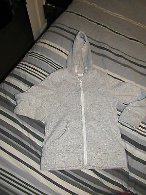 Girls Nutmeg Grey Hoodie Size 8-9 Years