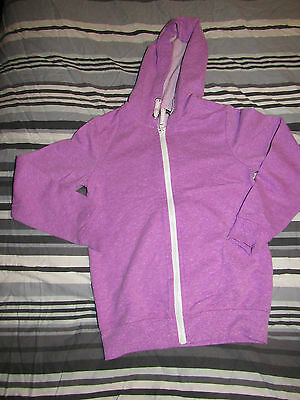 Girls George Purple Hoodie Size 8-9 Years