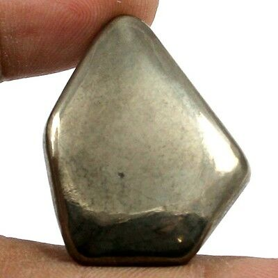 54.05 cts Natural Untreated Golden Pyrite Gemstone Fancy Shape Loose Cabochon
