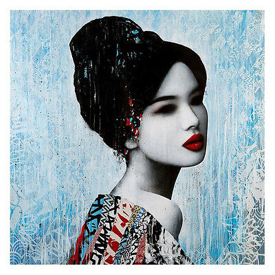 FADE by artist HUSH, AN EXCELLENT SIGNED WORK