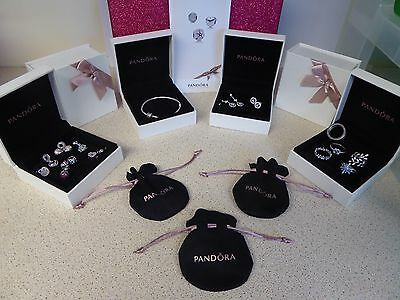 Pandora Box - Bracelet/ Charms/ Earrings Gift Box New Original Authentic