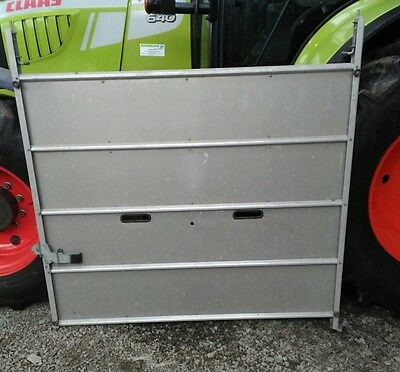 ifor williams dp120 dividing gate cattle box livestock trailer