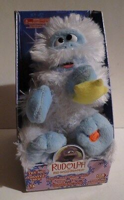 Bumble The Abominable Snowman Gemmy, Roars, Sings Holly Jolly Christmas