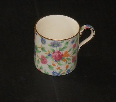 Royal Winton Old Cottage Chintz demi tasse coffee can great spare