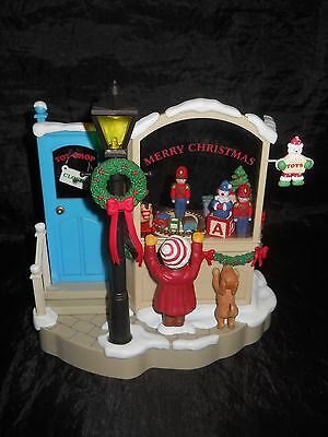 Vintage House of LLOYD Christmas Around The World MECHANICAL Toy Shop Music Box