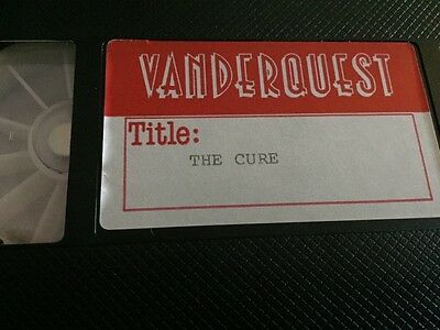 CURE Caterpillar Mega rare promo video Fiction Vanderquest promo only Siouxsie