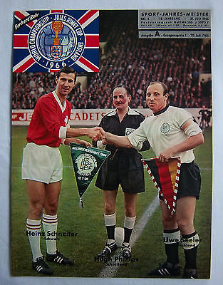 Orig.Guide / Extra programm   World Cup ENGLAND 1966 - Special Edition !! RARITY