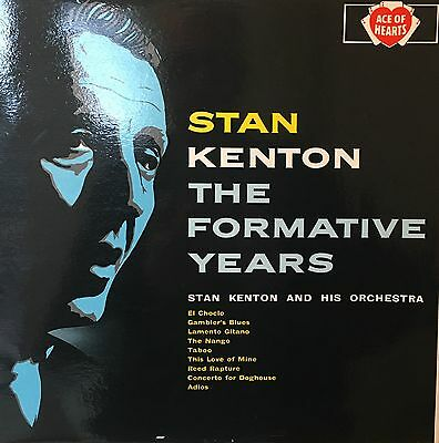 STAN KENTON The Formative Years Ace Of Hearts LP AH123 Mono