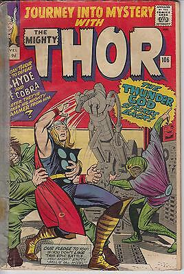 Thor Journey into Mystery 106 - 1964 - Very Good +