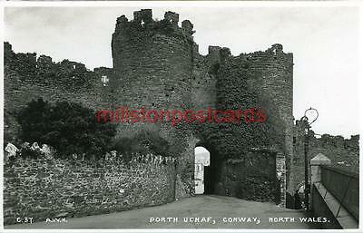 Real Photographic Postcard Of Porth Uchaf, Conway, Anglesey, Wales, Aldersyde