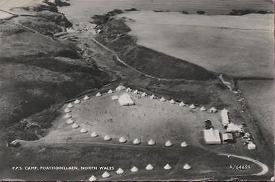 Pps Camp Porthdinllaen North Wales Caernarvonshire Real Photo 1970
