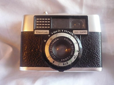 Vintage Revue 250 rapid camera - mid 60's with case and old film (used)