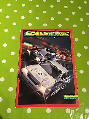 Scalextric Catalogue 34th Edition V Good Condition