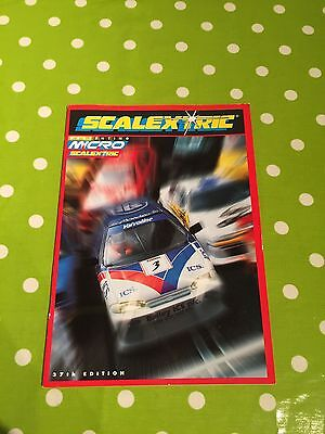 Scalextric Catalogue 37th Edition V Good Condition