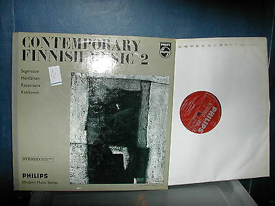 Philips 802 855LY Contempory Finnish music 2  LP made in Holland