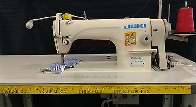 Juki DDL-8700 Single Needle Used SEWING with K.D Stand & Servo Motor & Led Lamp