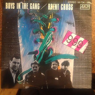 7'999   Boys in the gang/Brent cross     PUNK  GERMANY PIC SLEEVE