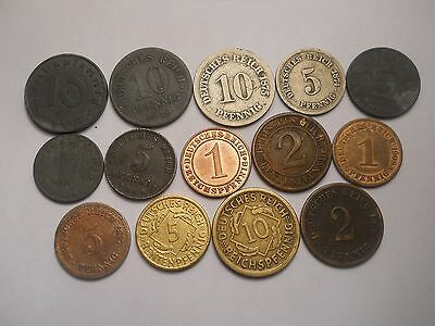 Germany : Collection of coins