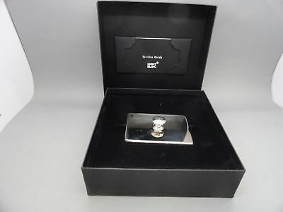 Montblanc Lifestyle Accessories Ink Blotter Silver Plated 9485 Rare Collectible