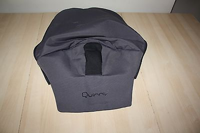 """Quinny Buzz pram and pushchair """" second stage seat cover """" - graphite grey"""
