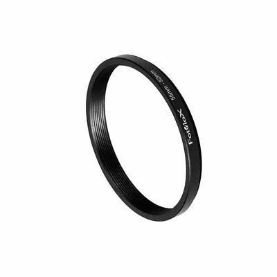 Fotodiox Metal Step Down Ring Filter Adapter, Anodized Black Aluminum 55mm-52mm,