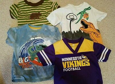 Toddlers Boys Short Sleeve Shirts Lot Size 3T  Boys Clothes