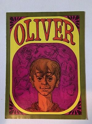 1972 Theater Program For Oliver, Milwaukee Melody Top Theater, Leonard Nimoy