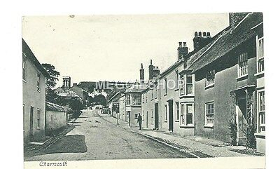 Dorset: Lyme Regis : Charmouth - Old Postcard