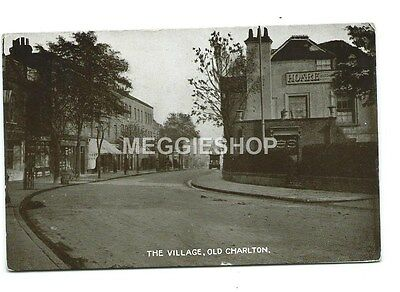 London: Woolwich : Old Charlton : The Village Old Postcard