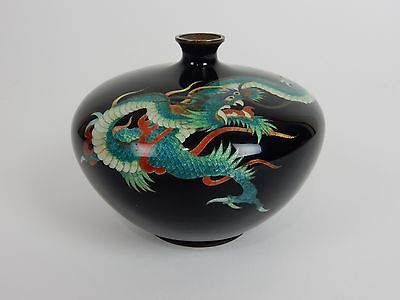 Antique Japanese Cloisonne Dragon Vase.  Extremely Rare piece.