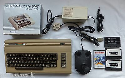 Commodore 64 Computer Package + Leads Tape Deck Joystick & Games Sound Issues