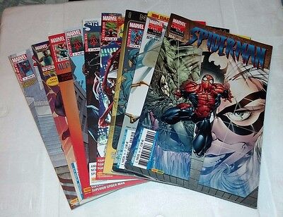 "Lot de 9 BD/Comics ""divers SPIDER-MAN"" - Très bon état"