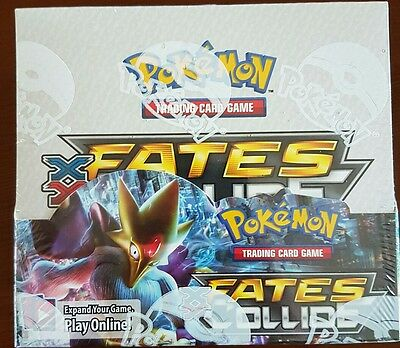 Pokemon Fates Collide  Sealed Booster Box - 36 Packs.