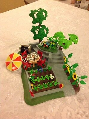 Playmobil Large Garden And Many Extra Accessories.