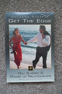 Anthony Robbins, Get The Edge Day 3-Disc 2, Power Of Relationships, Self Help Cd