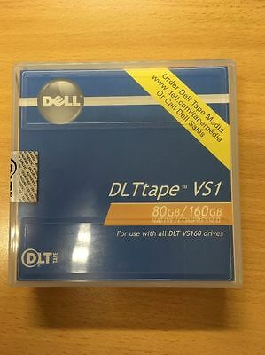 Dell-DLTtape VS1 80GB-160GB New and Sealed