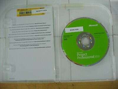 Microsoft Project 2010 Professional Licensed For 2 PCs Full English =BRAND NEW=
