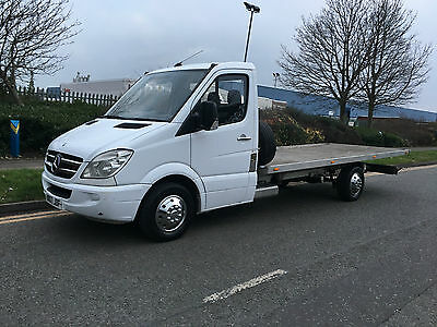 Mercedes Sprinter Recovery Truck Tilt And Slide Transporter Alloy Body Recovery