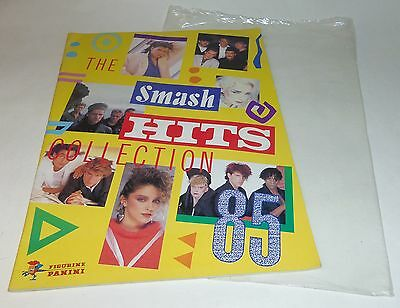 Panini Smash Hits Collection 1985 Sticker Album 9/144 + Packet