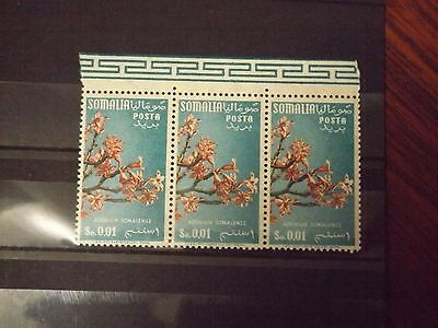 Strip of 3 stamps from Somalia-MNH