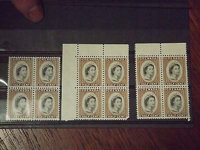 Block of four MNH stamps from Grenada