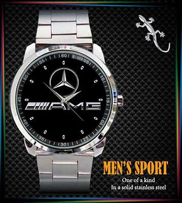 Limited Edition!!! AMG LOGO Sport Metal Watch BEST luxury GIFT