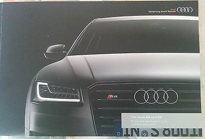 New Audi A8 and Audi S8 Brochure 108 Pages Stunning - Mint Condition