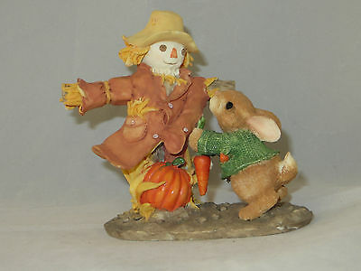 """harvesting Many Blessings"" 1997 Enesco My Blushing Bunnies  #276324 - Mint"
