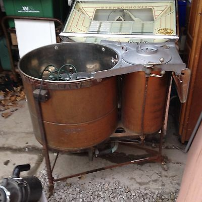 Easy Copper Washing Machine With Spin Dryer / Patd. March 26 1912