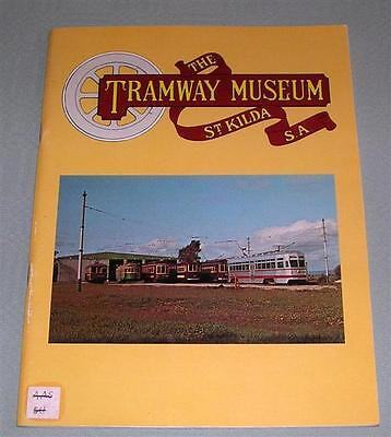 The Tramway Museum, St Kilda, SA, SC book,
