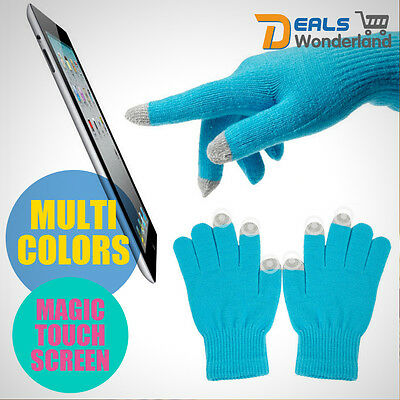 Outdoor Sport Warm Magic Touch Swiss Wear Touch Screen Gloves For Smartphone New