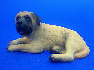 Mastiff Dog Pet Collectible Figurine Home Decor Poly Resin Statue