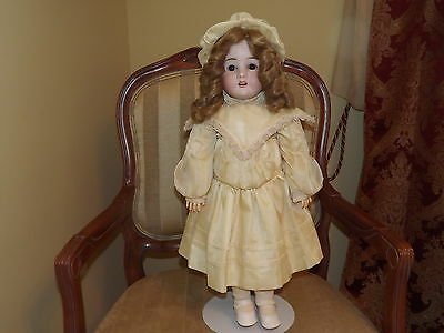 Germany Antique Pansy Doll Bisque Head Composition Body 24 in