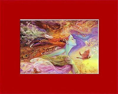 Opulent Josephine Wall Matted Pagan Goddess Art* Flight
